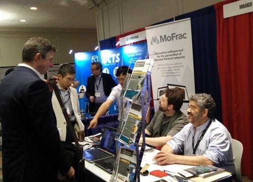 MIRARCO's booth at the ARMA trade show highlights MoFrac