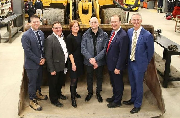 Feds invest in clean tech for Sudbury mines